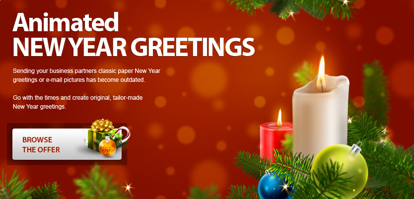 be original this year sending your business partners classic paper new year greetings or e
